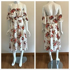 Jealous Tomato Dresses - Off the Shoulder Jealous Tomato Dress Size Medium